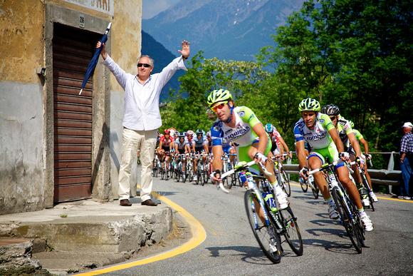 2011 Giro D'Italia Stage 17 Feltre - Tirano 230 km