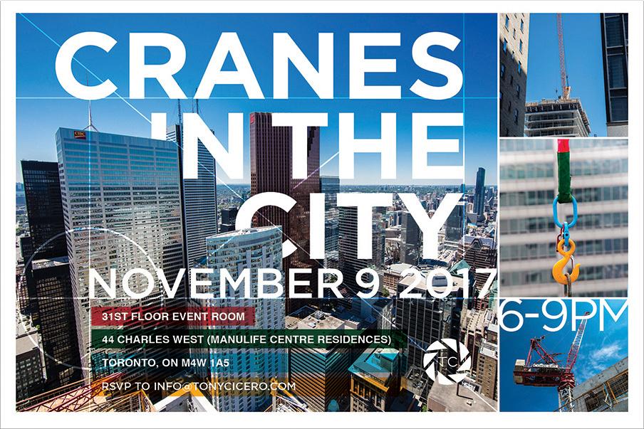 Cranes in the City Invite
